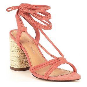 NWT GIBSON & LATIMER Tasha Strappy Suede Sandals